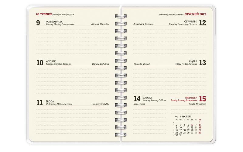 Kalendarz KK50