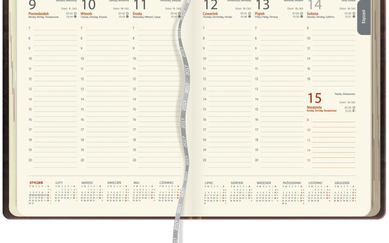 Kalendarz KK38 tygodniowy