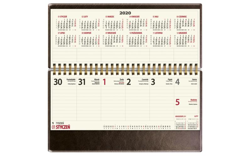 Kalendarz biurkowy VIP