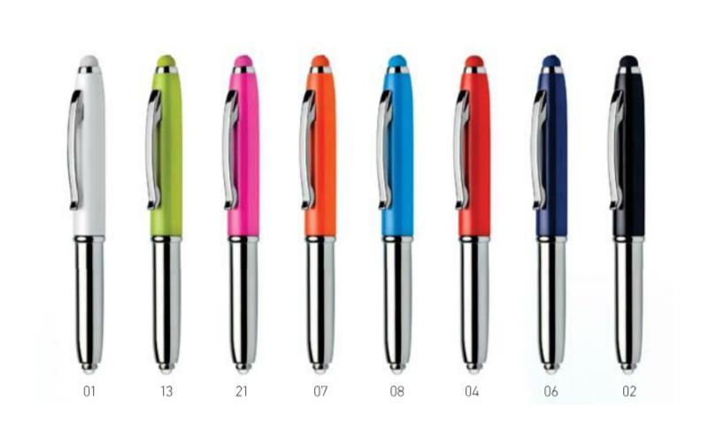 Długopisy wielofunkcyjne